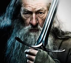 Gandalf with Sword