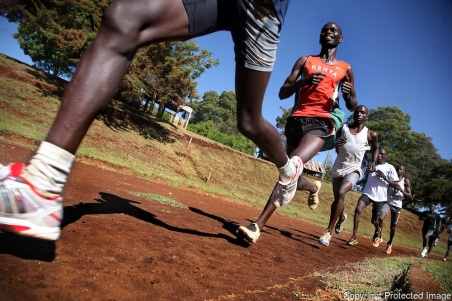 Kenyan runners resume training after post election violence