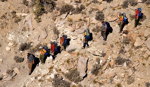 hike-down